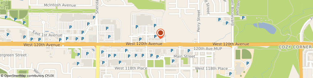 Route/map/directions to Great Clips, 80020 Broomfield, 4530 W 121st Ave