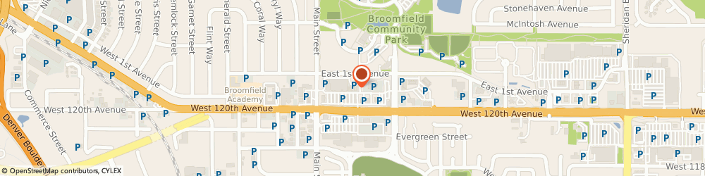 Route/map/directions to Great Clips, 80020 Broomfield, 6765 W 120th Ave