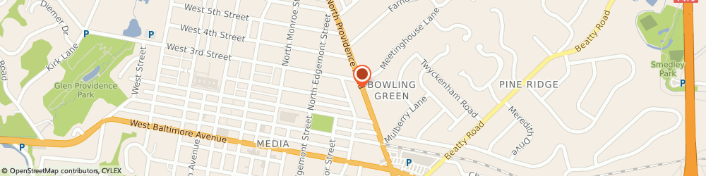 Route/map/directions to BAYADA Assistive Care, 19063 Media, 280 N Providence Road