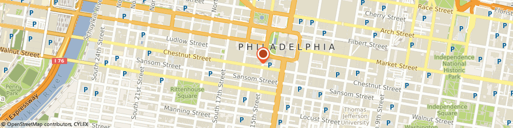 Route/map/directions to Wendy's - Closed Temporarily, 19102 Philadelphia, 1515 Chestnut Street
