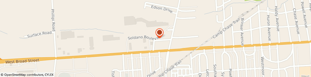 Route/map/directions to Sally Beauty Supply, 43228 Columbus, 3654 Soldano Blvd. Ste A