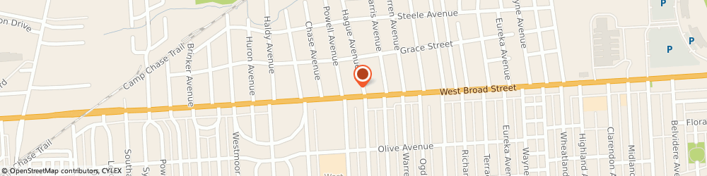 Route/map/directions to Walgreens, 43204 Columbus, 2770 W Broad St