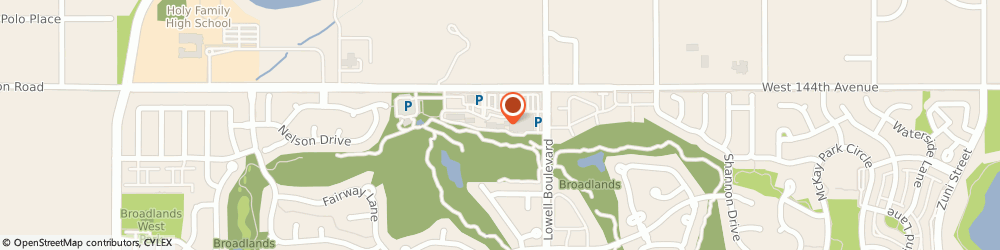 Route/map/directions to Great Clips, 80020 Broomfield, 3700 W 144th Ave