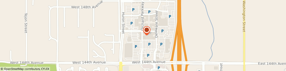 Route/map/directions to Complexion Med Spa, 80023 Westminster, 14532 Orchard Parkway