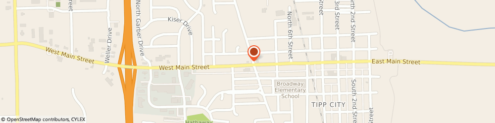 Route/map/directions to Dairy Queen (Treat), 45371-1438 Tipp City, 513 W Main St