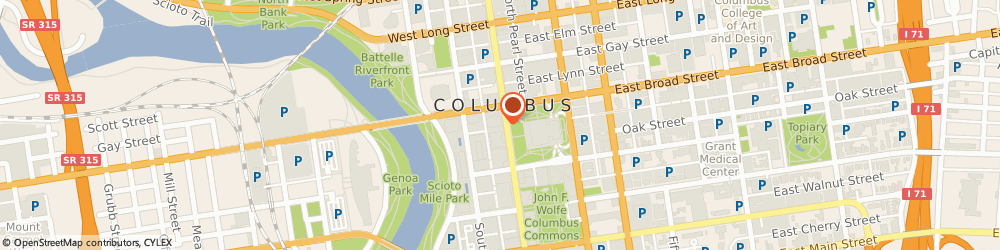 Route/map/directions to Potbelly Sandwich Shop, 43215 Columbus, 17 S. High Street