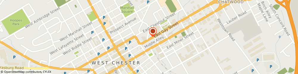 Route/map/directions to Domino's Pizza, 19380-2788 West Chester, 241 E Gay St