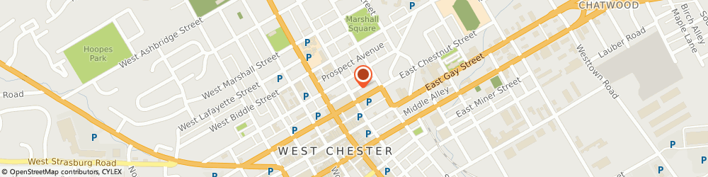 Route/map/directions to American Express Financial Advisors Incorporated, 19380 West Chester, 113 EAST EVANS STREET SUITE B
