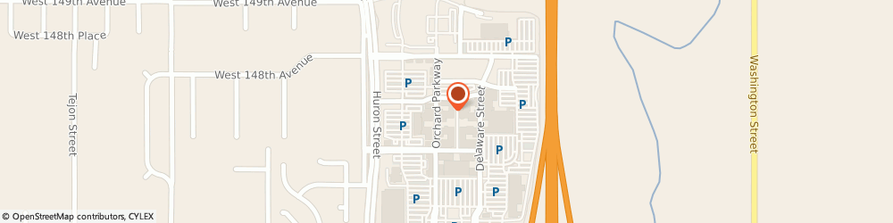 Route/map/directions to The Suite, Skin and Body, 80023 Westminster, 14694 Orchard Pkwy., Suite 225A