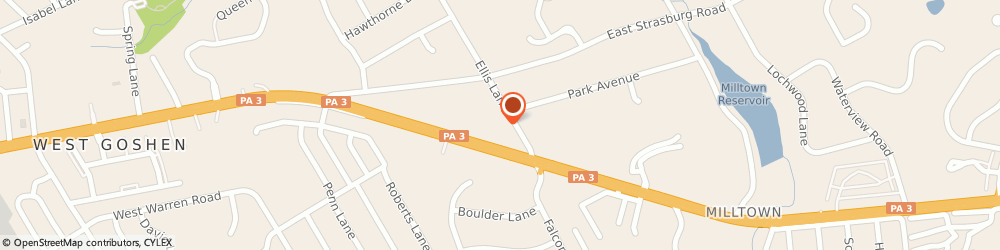 Route/map/directions to Rite Aid, 19382 West Chester, 1249 West Chester Pike