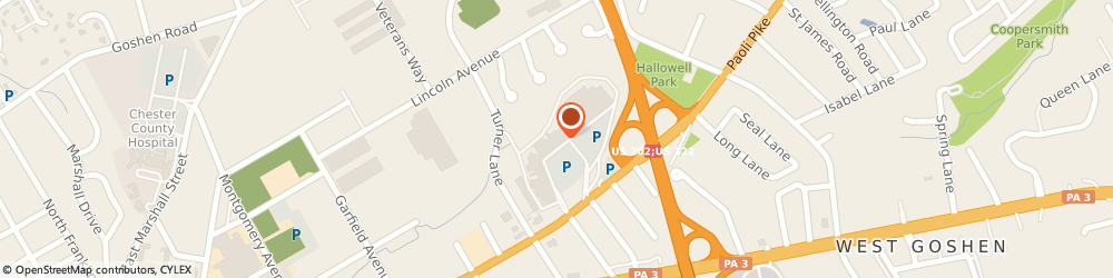 Route/map/directions to Pet Supplies Plus West Chester, 19380 West Chester, 959 Paoli Pike