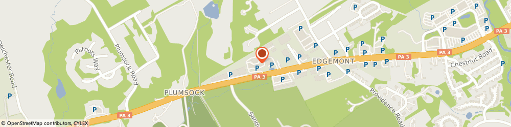 Route/map/directions to Public Storage, 19073 Newtown Square, 5085 West Chester Pike