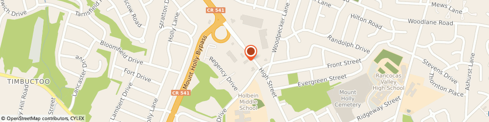 Route/map/directions to Santander Bank ATM, 08060 Mount Holly, 508 High St