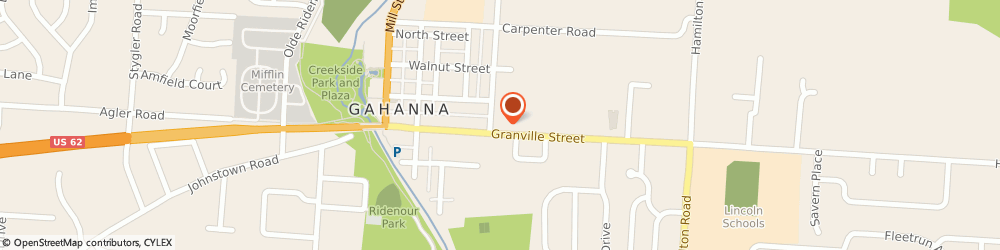 Route/map/directions to KeyBank Gahanna, 43230 Gahanna, 186 Granville St