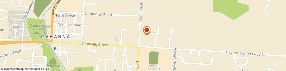 Route/map/directions to Citibank ATM, 43230 Gahanna, 110 North Hamilton Road