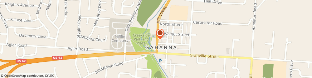 Route/map/directions to Citibank ATM, 43230 Gahanna, 123 Creekside Plaza