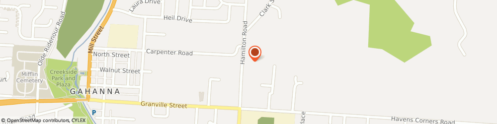 Route/map/directions to Citibank ATM, 43230 Gahanna, 166 North Hamilton Road