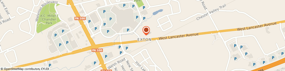 Route/map/directions to Sylvan Learning Center, 19341 Exton, 315 EAST LINCOLN HIGHWAY