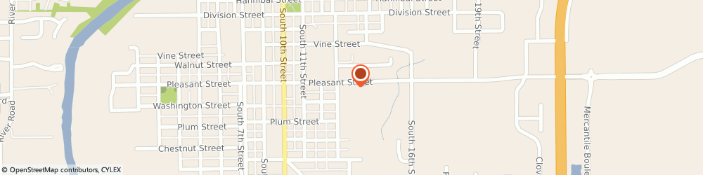 Route/map/directions to Express Wrecker Service, 46060 Noblesville, 1337 Pleasant St