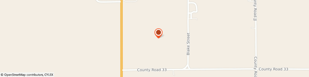 Route/map/directions to U-Haul Co., 80758 Wray, 31378 County Road 33