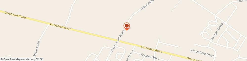 Route/map/directions to Jeff's Automotive, 17257 Shippensburg, 10889 Thornwood Rd