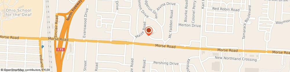 Route/map/directions to Save A Lot, 43229 Columbus, 1254 Morse Rd