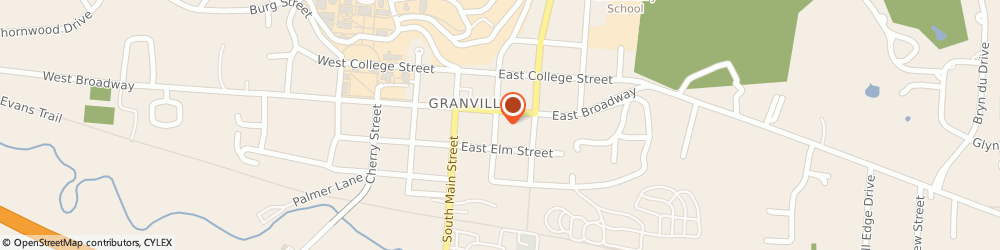 Route/map/directions to Effin Insurance Agency, 43023 Granville, 203 E Broadway Ste 567