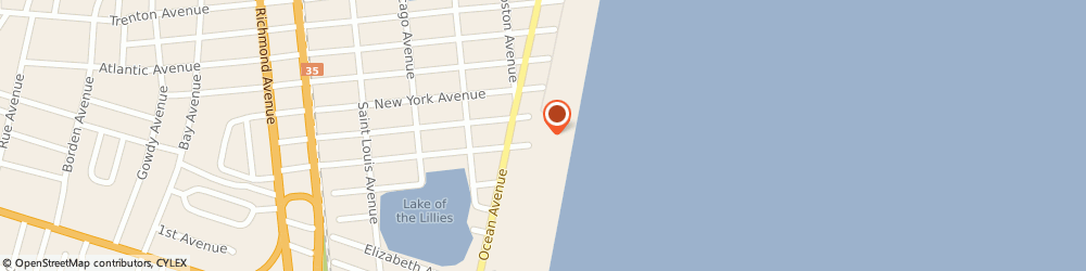 Route/map/directions to Aquatic Management Services, 08742 Point Pleasant Beach, STREET