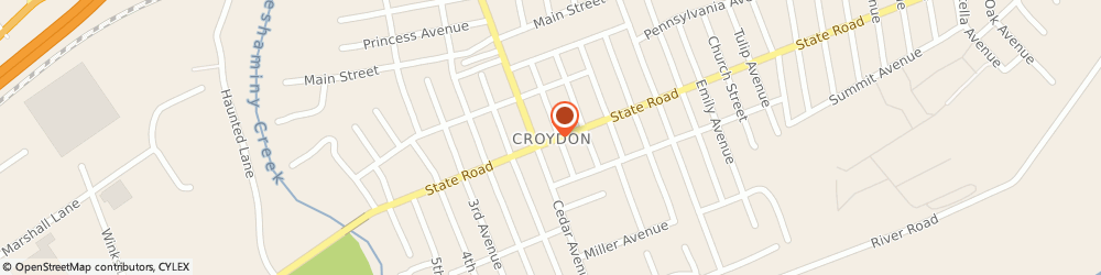 Route/map/directions to CITIBANK ATM, 19021 Croydon, Pantry 1 Croydon