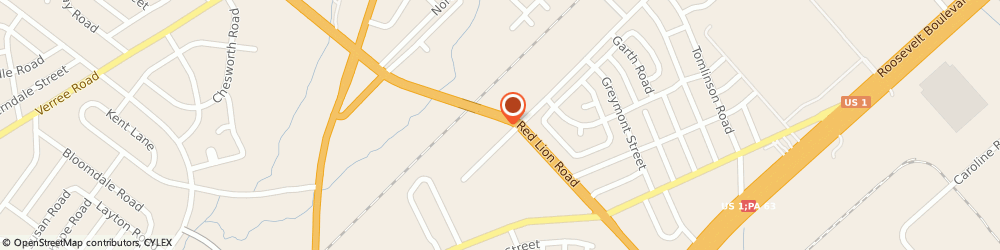 Route/map/directions to Navy Federal Credit Union ATM, 19115 Philadelphia, 2040 Red Lion Rd