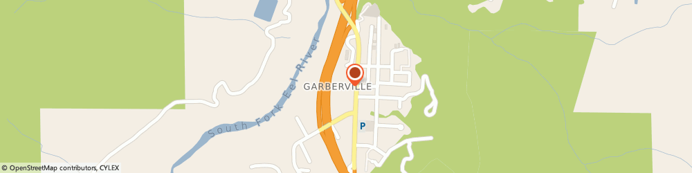 Route/map/directions to Farmers Insurance - Randall Cantua, 95542 Garberville, 786 Redwood Dr
