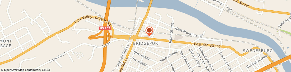 Route/map/directions to Safeco Insurance Agent, 19405-1010 Bridgeport, 123 W 4Th St