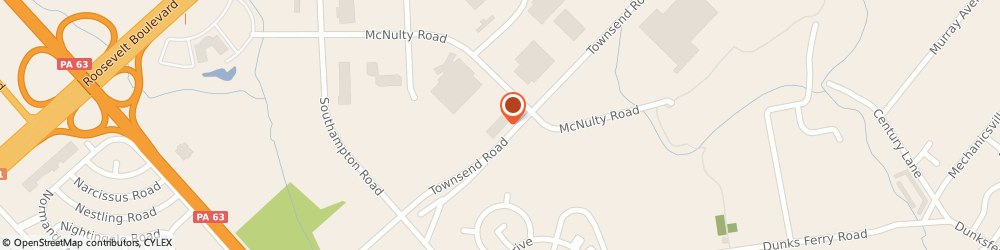 Route/map/directions to Navy Federal Credit Union ATM, 19154 Philadelphia, 12800 Townsend Rd