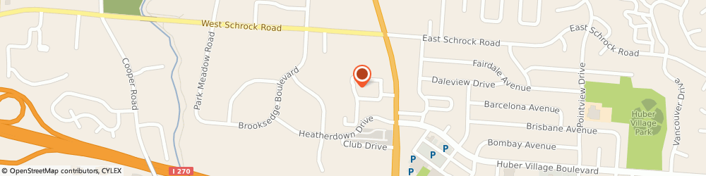 Route/map/directions to Northland Towing & Collision, 43081 Westerville, 4290 MERLIN DR