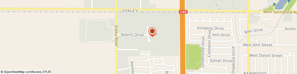 Route/map/directions to Cleaners Coach, 61822 Champaign, 602 Ashford Ct