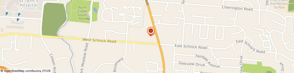 Route/map/directions to Tamarack TKD Martial Arts Studio, 43081 Westerville, 599 S State St