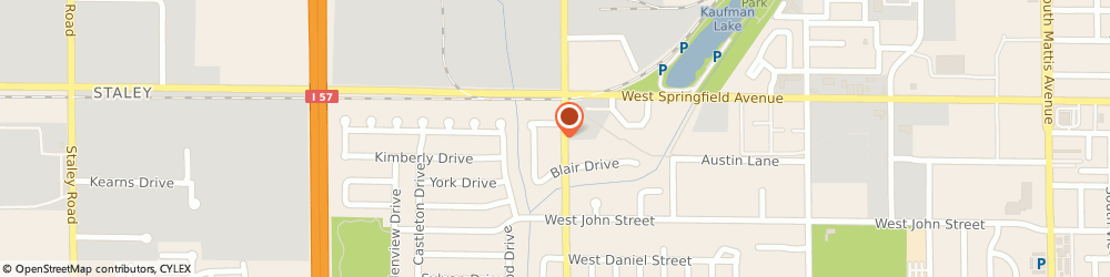 Route/map/directions to Dollar Tree Stores Incorporated, 61821 Champaign, 503 SOUTH DUNCAN ROAD