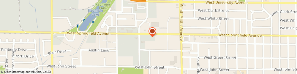 Route/map/directions to Burger King, 61821 Champaign, 2105 West Springfield Ave