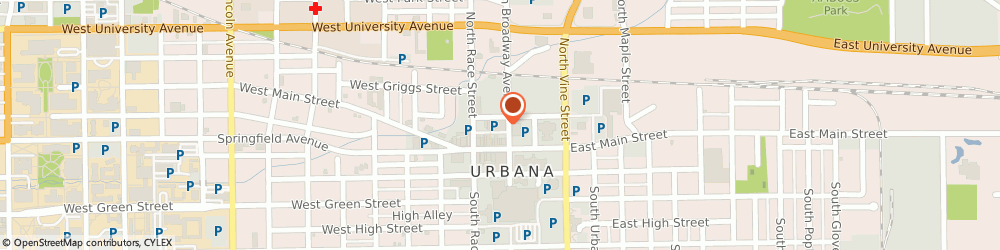Route/map/directions to World Finance, 61801 Urbana, 111 N Broadway Ave