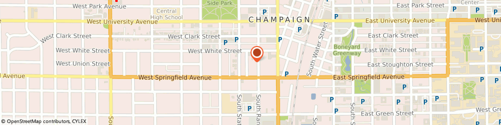 Route/map/directions to Associated Builders LTD, 61820 Champaign, 308 COTTAGE CT