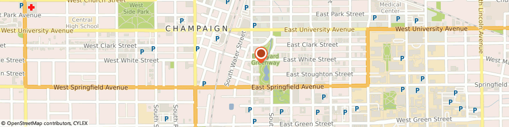 Route/map/directions to PNC Bank, 61820 Champaign, 302 S 1st St Ste 101