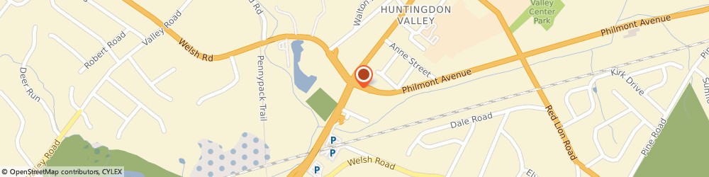 Route/map/directions to Sunoco, 19006 Huntingdon Valley, 2295 Huntingdon Pike