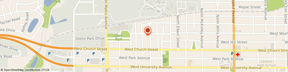 Route/map/directions to Klein Construction Co, 61821 Champaign, 408 NORTH CARSON AVENUE