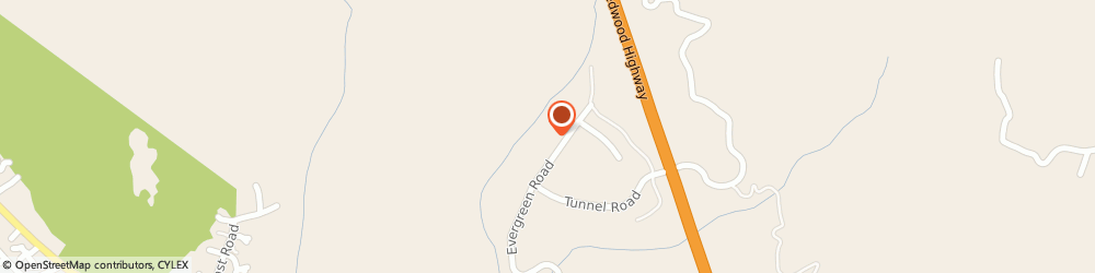 Route/map/directions to U-Haul Co., 95560 Redway, 1210 EVERGREEN RD