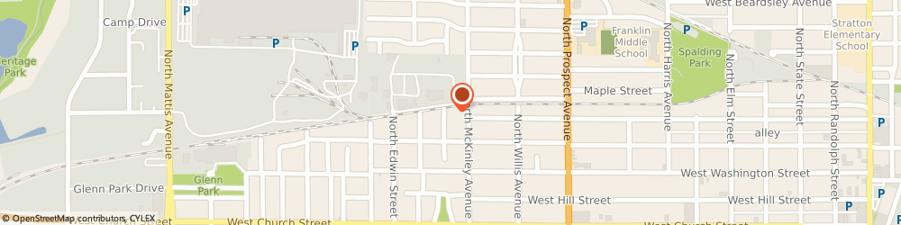 Route/map/directions to Gaines Fence Construction, 61821 Champaign, 702 SWIGART STREET
