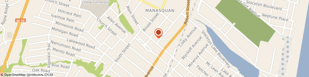 Route/map/directions to Tess, 08736 Manasquan, 132 MAIN STREET