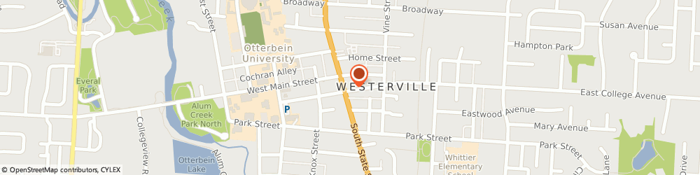 Route/map/directions to Springhouse Antique Mall, 43081 Westerville, 2 NORTH STATE STREET