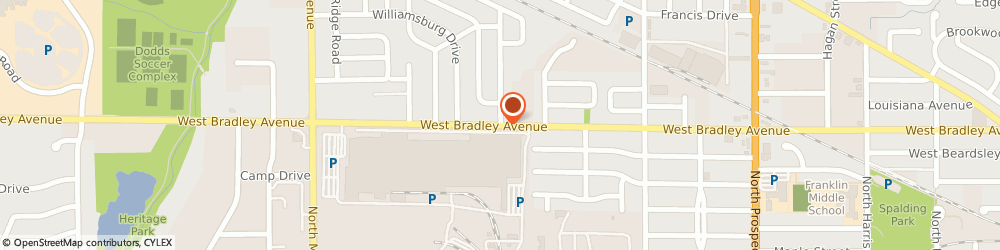 Route/map/directions to Illini Contractor Supply, 61820 Champaign, 706 West Bradley Ave