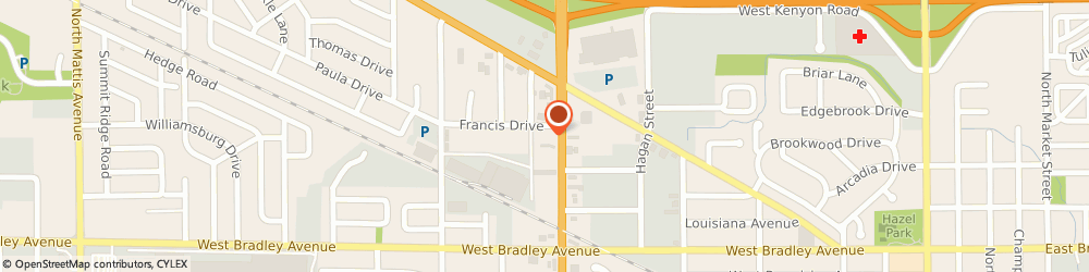 Route/map/directions to Remco- SE Lynch Electric, 61821 Champaign, 903 Francis Dr