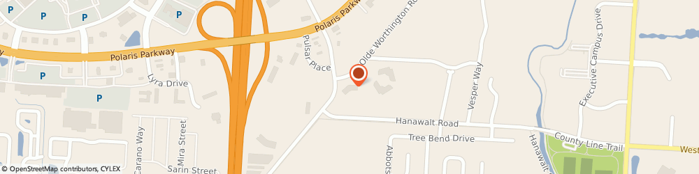 Route/map/directions to Enviro-Health Inc, 43082 Westerville, 470 Olde Worthington Road